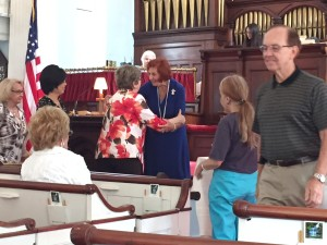 new member at First Presbyterian Church of East Hanover NJ