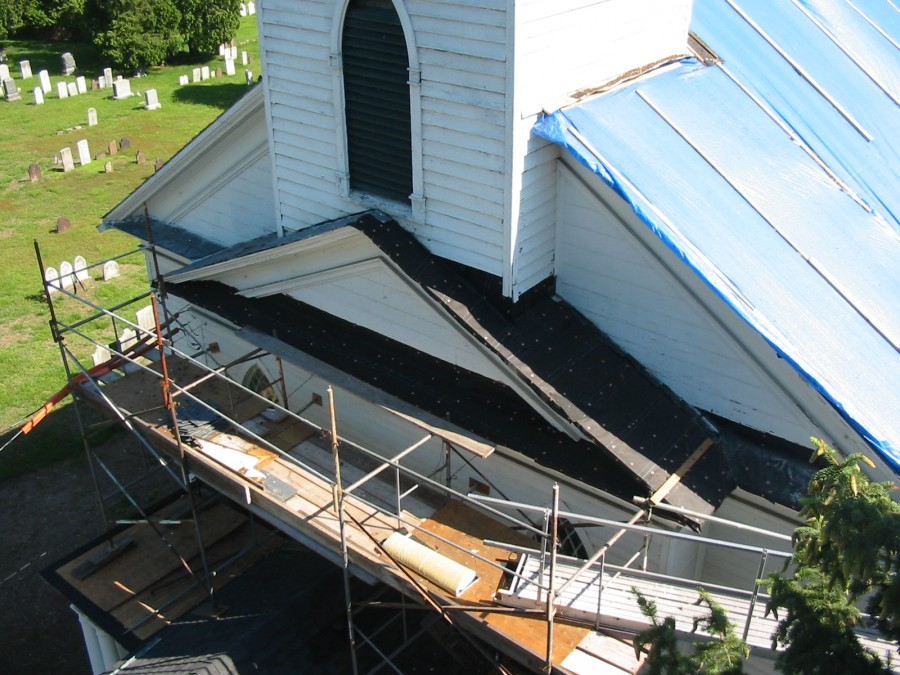 repair on the roof